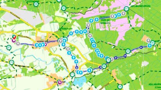 Route Meinwegtocht