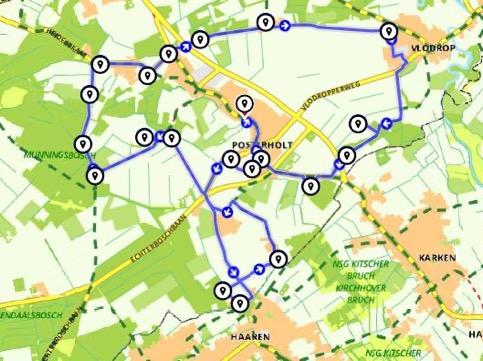 Route Rondje Posterholt