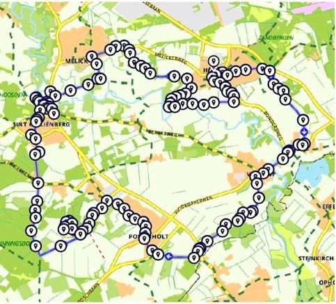 Route Rondje Roerdalen Oost